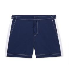 282667d2d9 Orlebar Brown - Bulldog Mid-Length Striped Swim Shorts