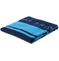 Orlebar Brown Seymour Logo-Detailed Cotton-Terry Beach Towel