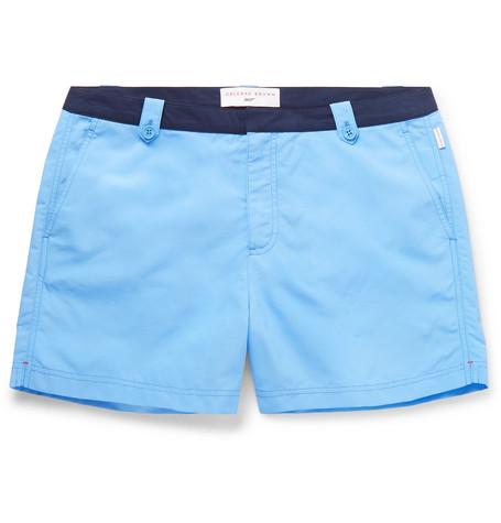 cb50102f60864 Orlebar Brown - + 007 Thunderball Setter Mid-Length Swim Shorts