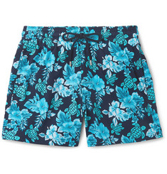 Vilebrequin Moorise Slim-Fit Mid-Length Printed Swim Shorts