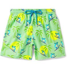 b7dbb74345739 Vilebrequin Moorea Mid-Length Printed Swim Shorts