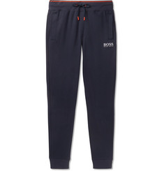 Hugo Boss - Slim-Fit Tapered Cotton-Jersey Sweatpants
