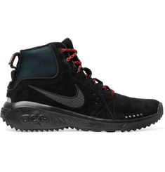 Nike ACG Angel's Rest Suede and Mesh Sneakers