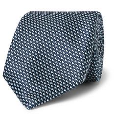 휴고보스 실크-자카드 넥타이 Hugo Boss 7.5cm Silk-Jacquard Tie,Blue