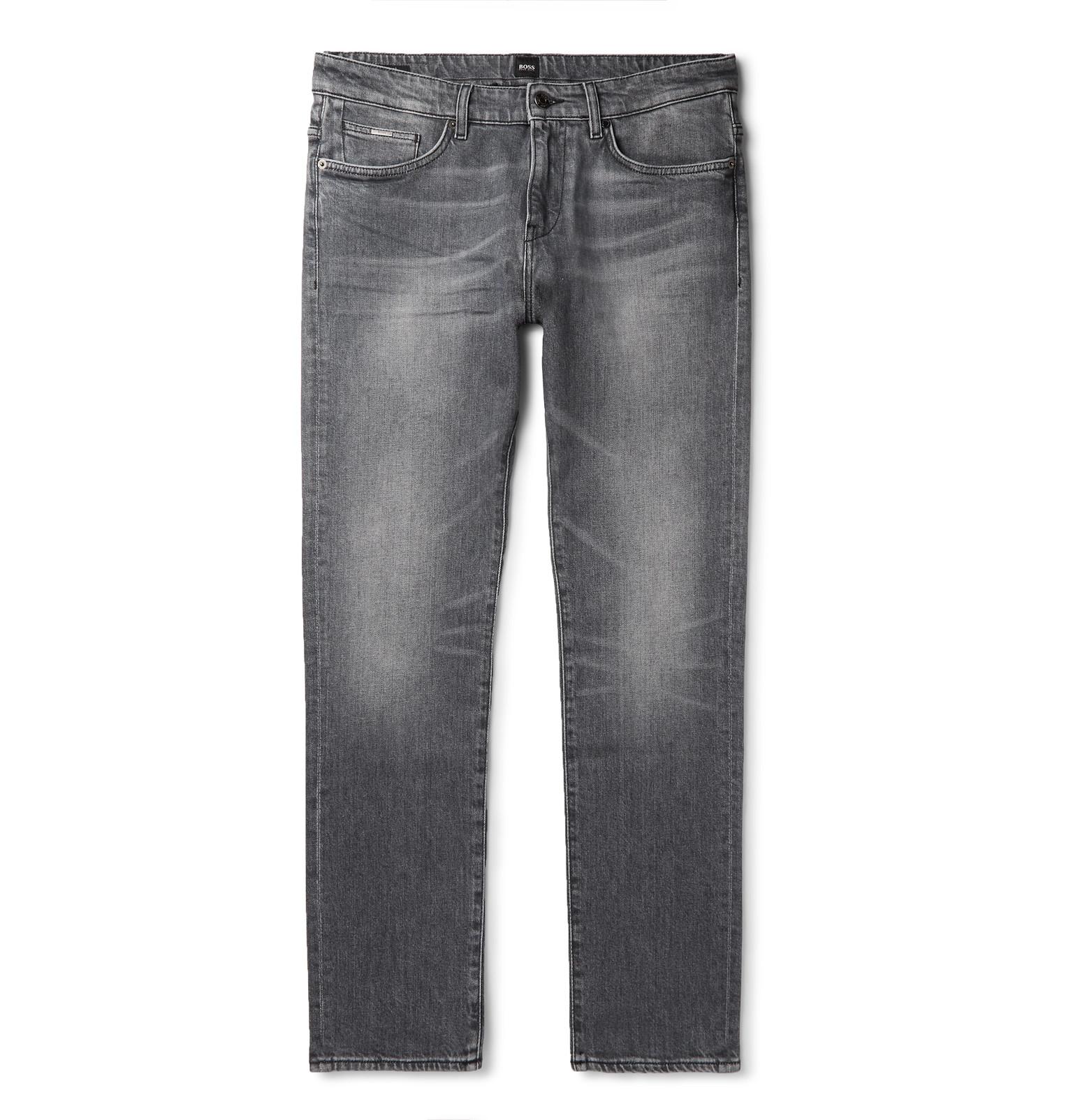 fb27f529 Hugo Boss - Delaware Slim-Fit Stretch-Denim Jeans