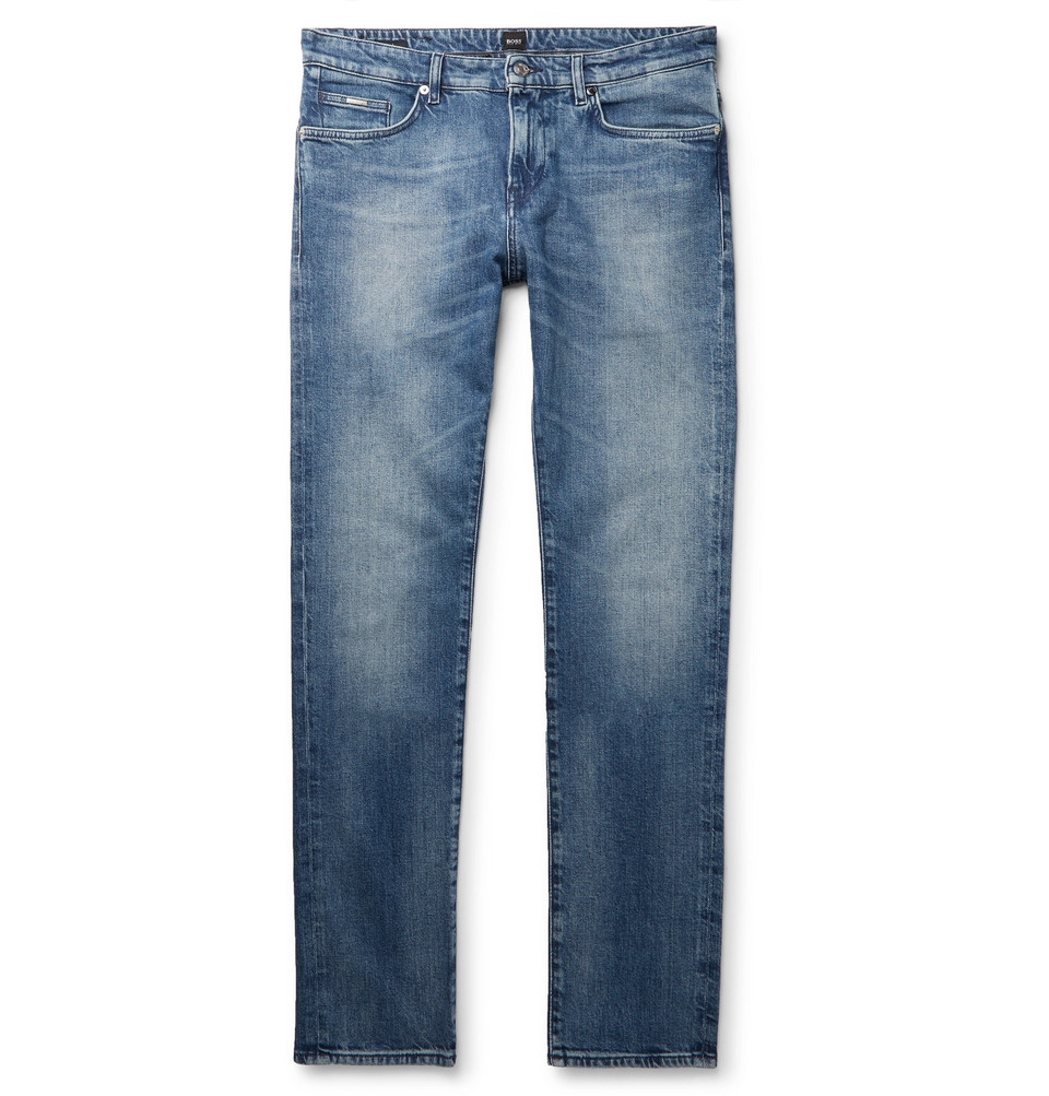 Hugo Boss Slim-Fit Denim Jeans