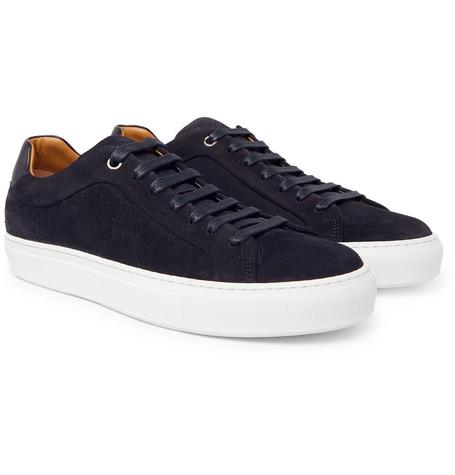 Mirage Suede Sneakers - Navy