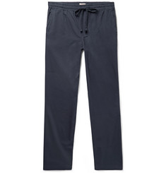 Faherty - Marty Cotton and Lyocell-Blend Drawstring Trousers
