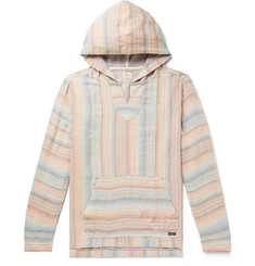 Faherty Baja Reversible Tencel and Linen-Blend Hoodie