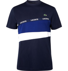 Lacoste Tennis Logo-Trimmed Tech-Piqué Tennis T-shirt