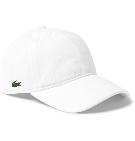 8c7a9b169785e9 Lacoste Tennis - Logo-Appliquéd Woven Tennis Cap
