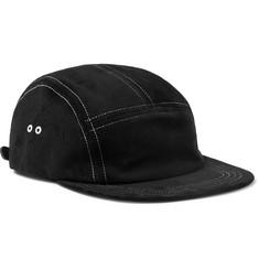 Waterproof Suede Baseball Cap - Black
