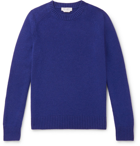 Gabriela Hearst Sweaters CASHMERE SWEATER - NAVY