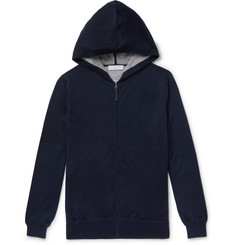 Gabriela Hearst Cashmere and Silk-Blend Zip-Up Hoodie