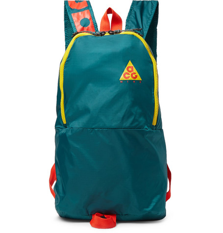 Nike Acg Packable Ripstop Backpack In Green