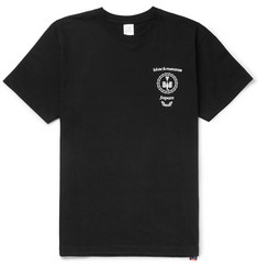 Blackmeans Printed Cotton-Jersey T-Shirt