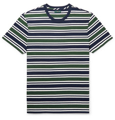 J.Crew Striped Cotton-Jersey T-Shirt
