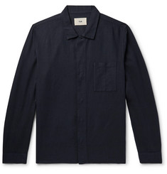 Folk Linen and Cotton-Blend Shirt