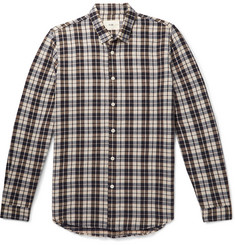 Folk Checked Woven Shirt