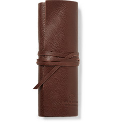 This Is Ground Bandito Full-Grain Leather Pouch