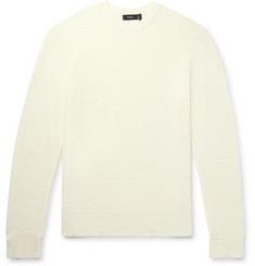 Theory - Davies Textured-Knit Linen-Blend Sweater