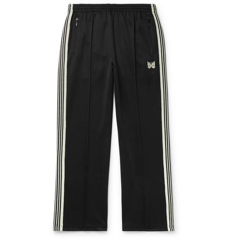 1e98639b Needles - Glittered Webbing-Trimmed Tech-Jersey Track Pants