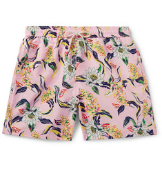 Polo Ralph Lauren Traveller Wide-Leg Mid-Length Floral-Print Swim Shorts