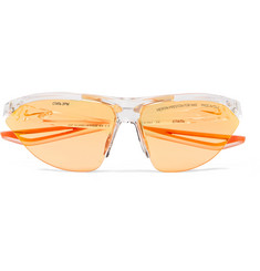 Heron Preston + Nike Tailwind Polycarbonate Sunglasses with Interchangeable Lenses