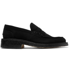 Tricker's James Suede Penny Loafers