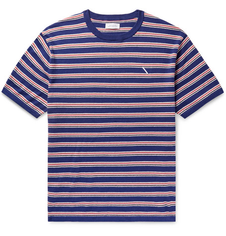 Saturdays NYC Knitted Cotton and Cashmere-Blend T-Shirt