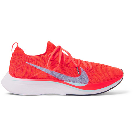 Vapor Fly 4 Percents Flyknit Running Sneakers by Nike Running