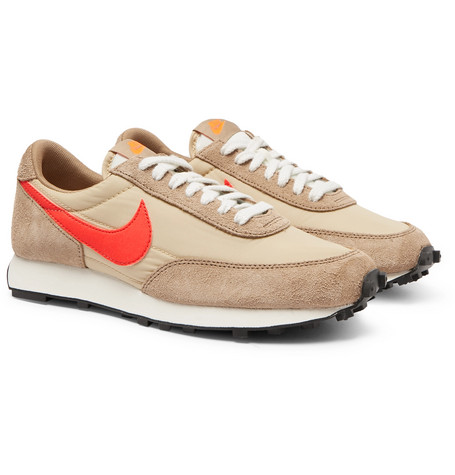 Daybreak Nylon And Suede Sneakers by Nike