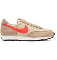 Nike Daybreak Nylon and Suede Sneakers