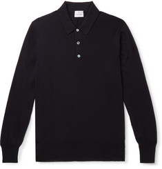 Kingsman Knitted Cashmere Polo Shirt
