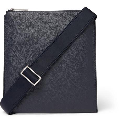 cba1f6b81d Hugo Boss - Full-Grain Leather Messenger Bag