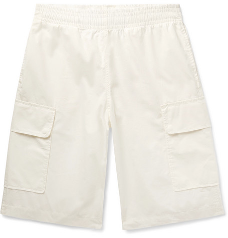Our Legacy Shorts REST COTTON DRAWSTRING CARGO SHORTS