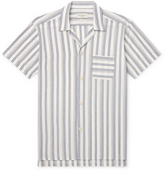 Oliver Spencer Loungewear Striped Organic-Cotton Pyjama Shirt