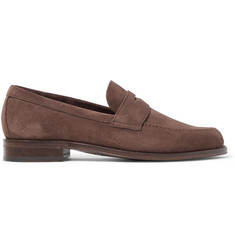 Paul Smith Lowry Suede Penny Loafers