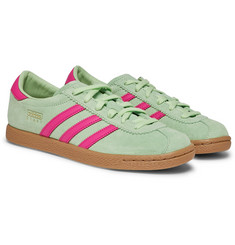 adidas Originals - Stadt Suede and Leather Sneakers