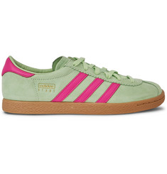 adidas Originals Stadt Suede and Leather Sneakers
