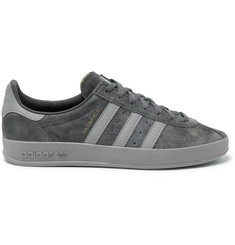 adidas Originals Broomfield Leather-Trimmed Suede Sneakers