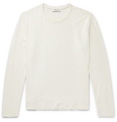 YMC Textured-Cotton Sweatshirt