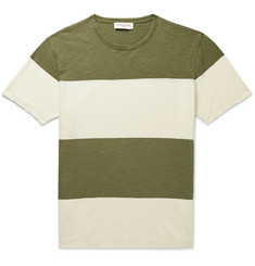 YMC Striped Slub Cotton-Jersey T-Shirt