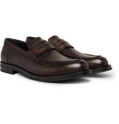 Berluti Venezia Leather Penny Loafers
