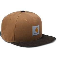 Nike + Carhartt NikeLab Pro Cotton-Corduroy and Canvas Baseball Cap