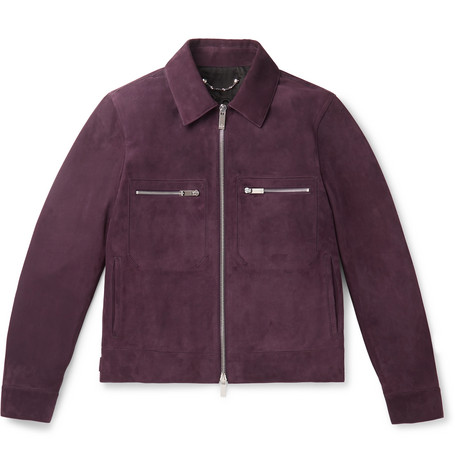 Berluti – Suede Jacket – Burgundy