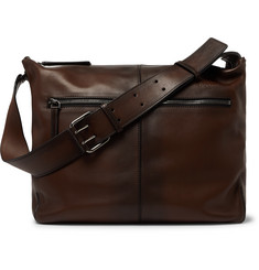 Berluti Amplitude Leather Messenger Bag