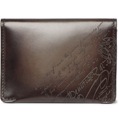Berluti Scritto Leather Billfold Wallet