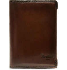 Berluti Ideal Leather Bifold Cardholder