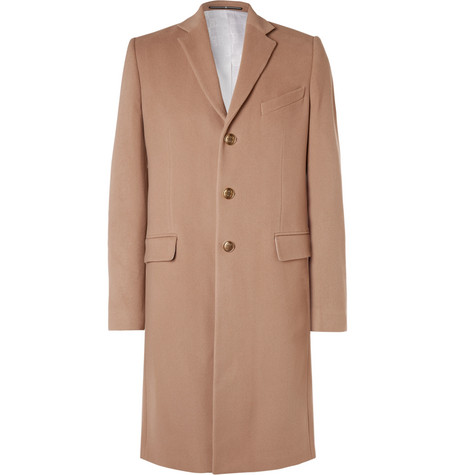 GIVENCHY | Givenchy - Slim-Fit Wool And Cashmere-Blend Coat - Camel | Goxip